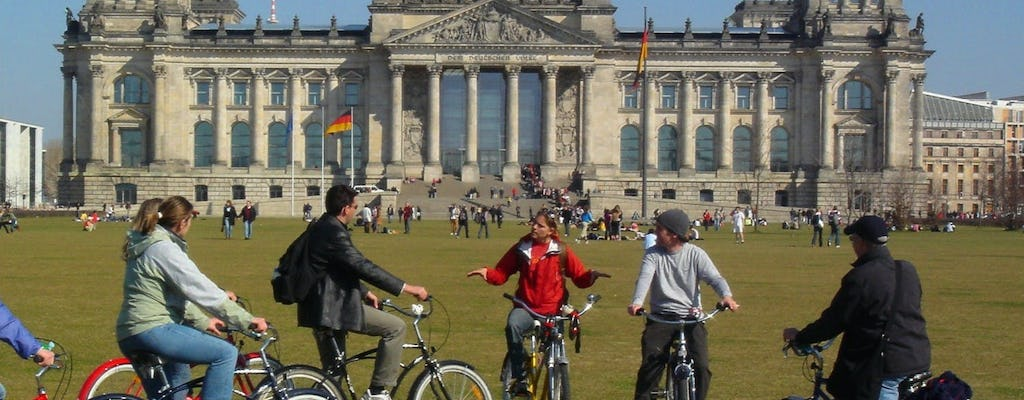 Berlin city tour by bike