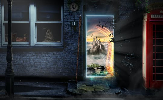 Jogo de Harry Potter e o mundo dos magos em Londres