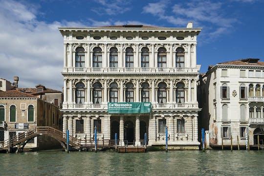 Ca' Rezzonico 18th century Venice Museum entrance tickets