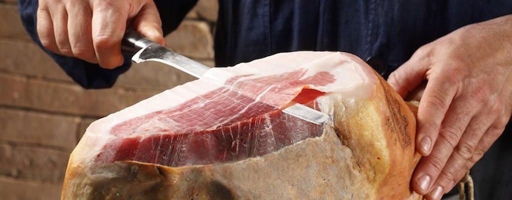 Esperienza di degustazione del prosciutto di Parma nell'area di Parma
