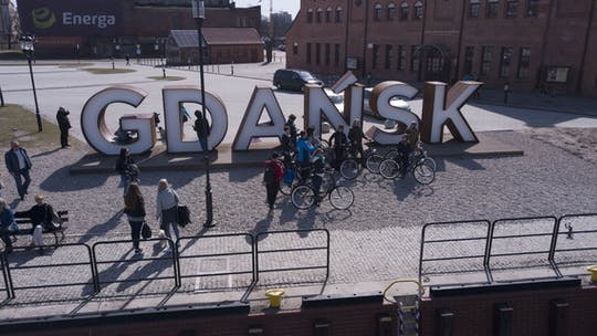 4-hour private bike tour in Gdansk