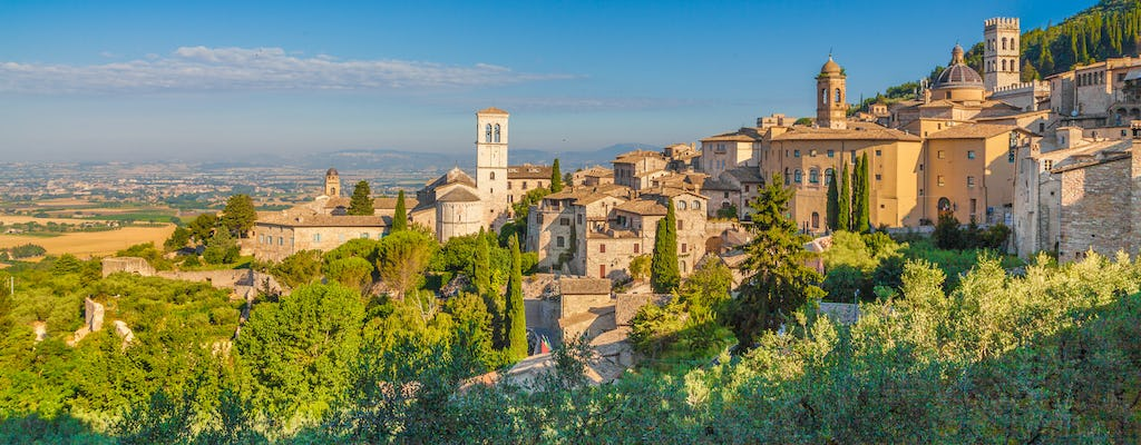 Assisi and San Francesco day-trip from Florence