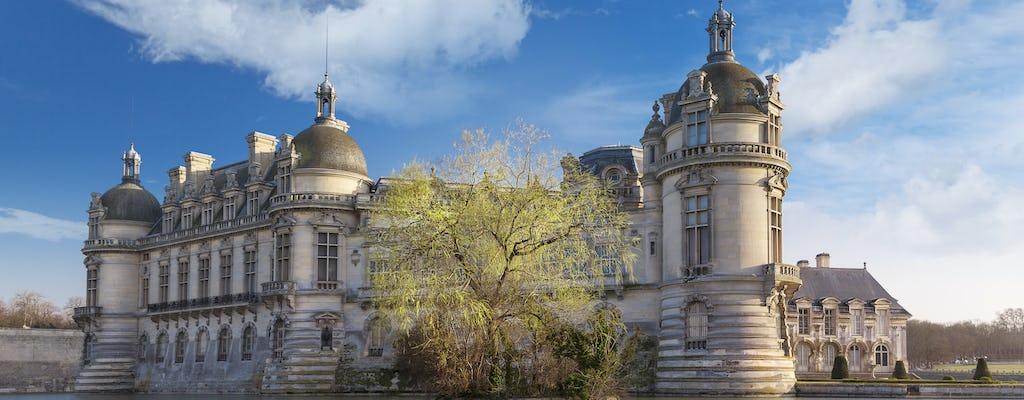 Bilhete de entrada para o Domaine de Chantilly
