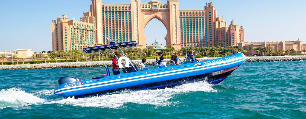 Tour in motoscafo di Dubai Marina, Atlantis e Burj Al Arab