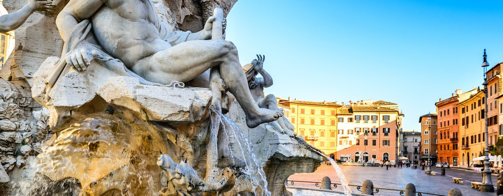 Private walking tour of the Spanish steps, the Pantheon and Trevi fountain