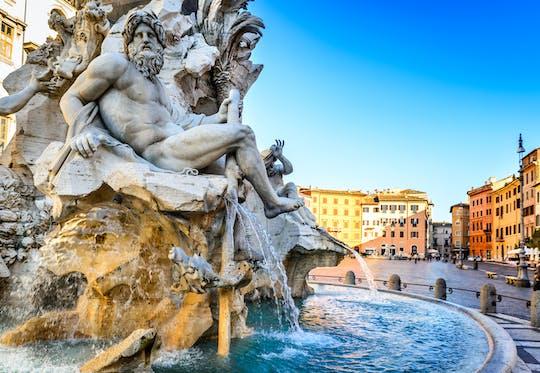 Tour privato a piedi di Piazza di Spagna, Pantheon e fontana di Trevi