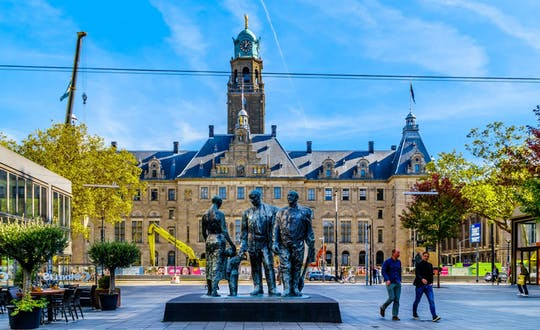 Gra miejska Rotterdam - walka szpiegowska o Stare Miasto