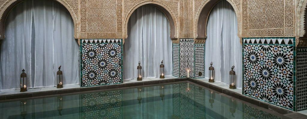 Esperienza di bagni arabi all'Hammam Al Andalus di Malaga