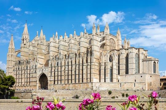 Entrance to Palma Cathedral La Seu