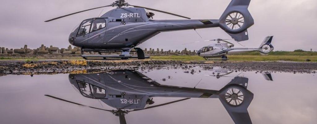 Malowniczy helikopter Lot nad Kapsztadem