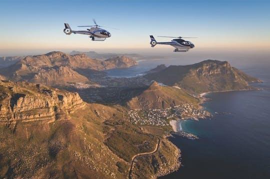 Dois oceanos, vôo de helicóptero panorâmico de 25 minutos na Cidade do Cabo