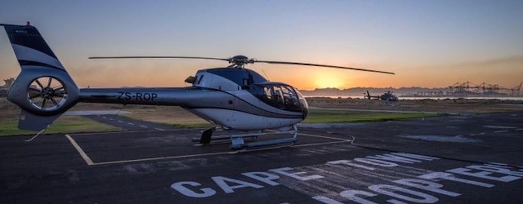 Penisola di 50 minuti di volo panoramico in elicottero a Cape Town