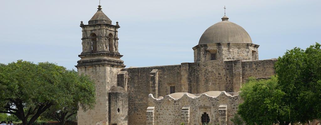 Visite des missions de San Antonio au patrimoine mondial de l'UNESCO