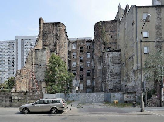 Jewish ghetto private walking tour in Warsaw