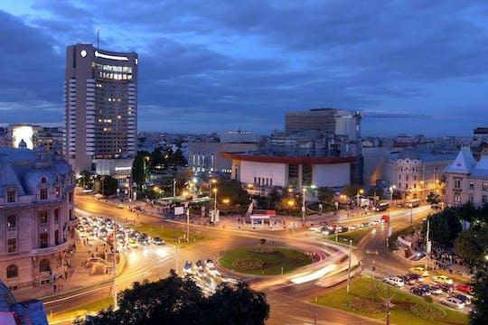 Visite nocturne de Bucarest et dîner traditionnel
