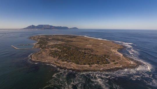 Volo panoramico di 20 minuti in elicottero di Cape Town Robben Island