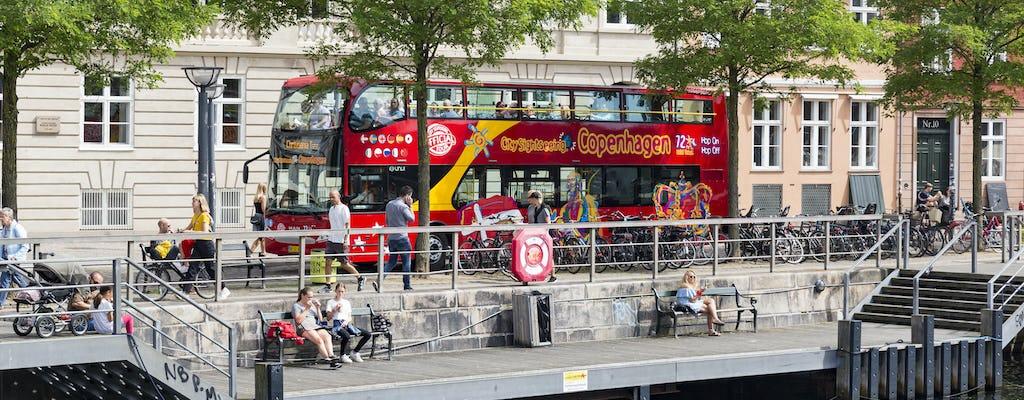 Ticket de bus en bus à arrêts multiples 72h Copenhague