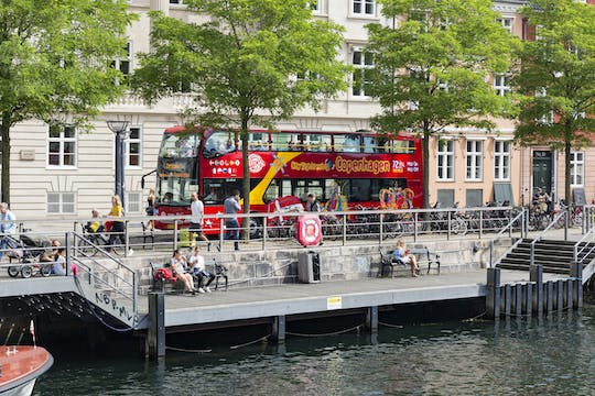 72h Hop-On Hop-Off bus tour ticket Copenhagen