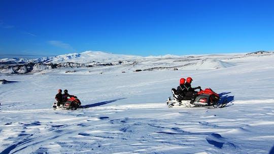 Tour de la côte sud et promenade en motoneige sur un glacier