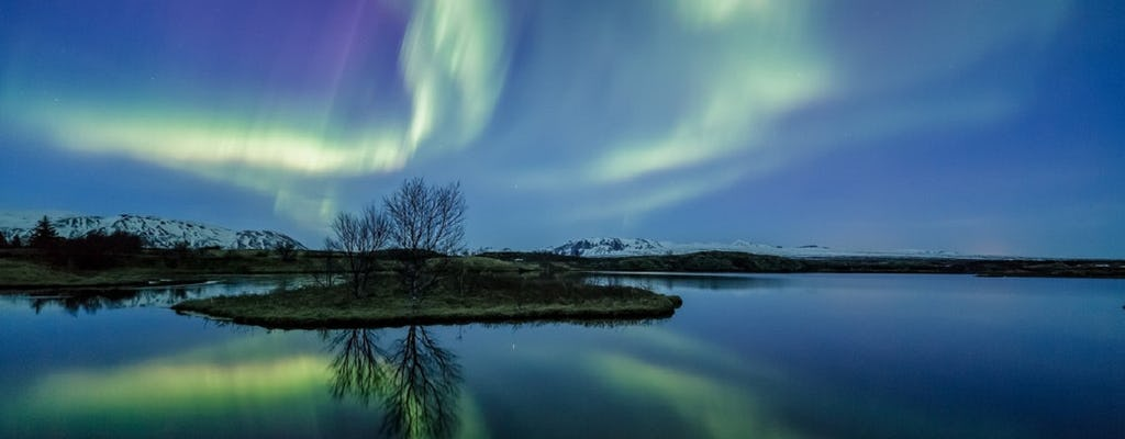 Northern lights tour in Reykjavik by boat
