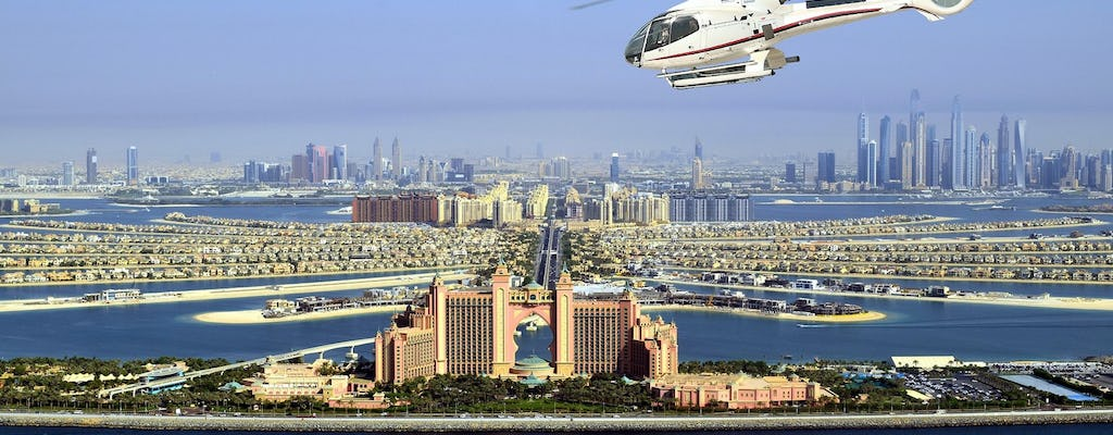 15-minute helicopter tour over Dubai