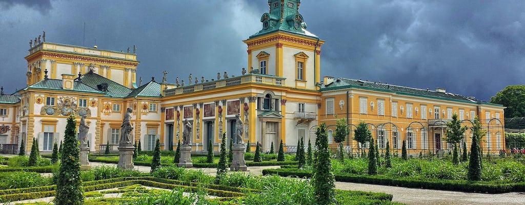 Excursão privada de dia inteiro ao melhor de Varsóvia com transporte