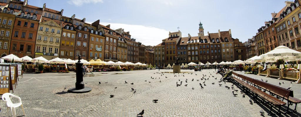 Старый город Варшавы 2-часовая пешеходная экскурсия с гидом