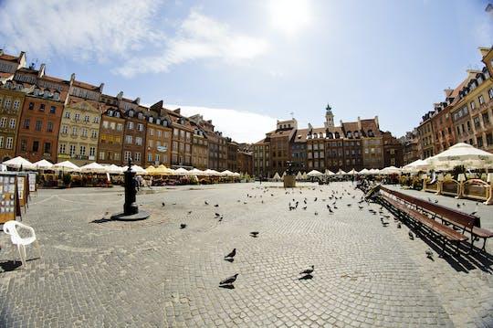 Visita guiada a pie de 2 horas por el casco antiguo de Varsovia