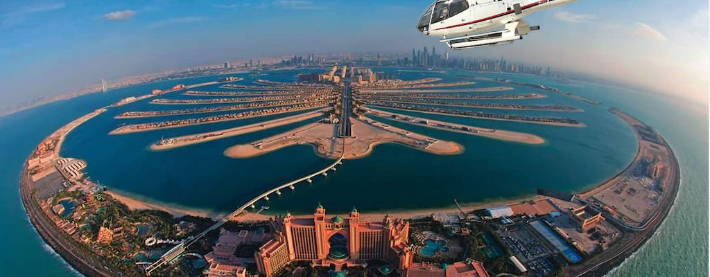 25-minute helicopter tour over Dubai