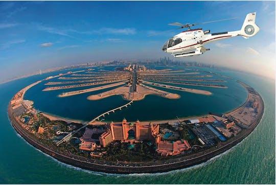 25 minutos de helicóptero sobre Dubai
