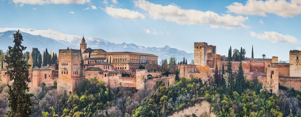 Wycieczka z przewodnikiem po Alhambrze i centrum Granady