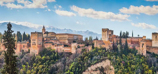 Alhambra and Granada city center guided tour