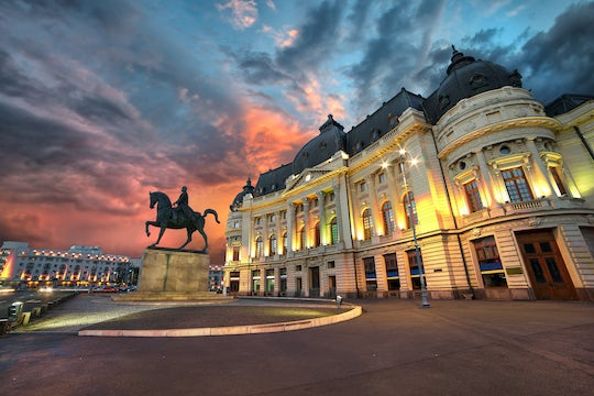 Haunted Bucharest city game – ghost stories and creepy places