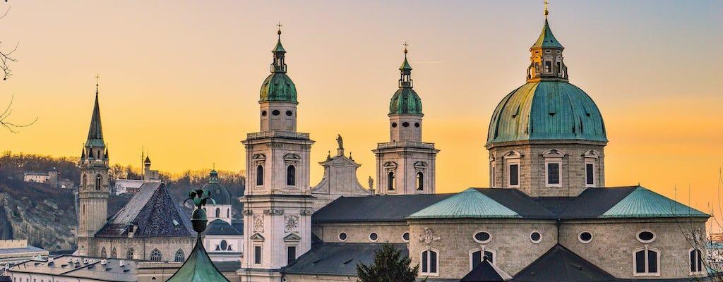Salzburg panorama city tour