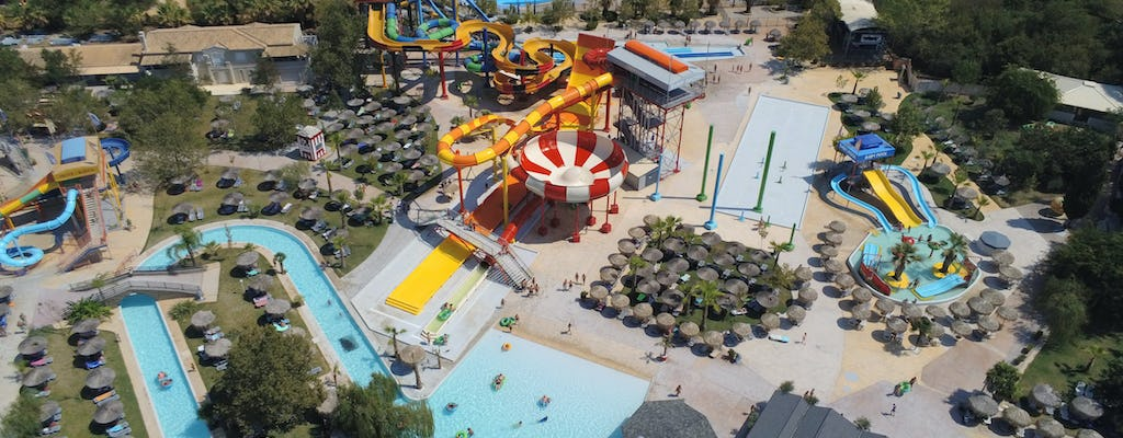 Aqualand met transfer