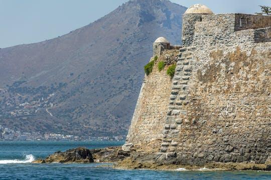 Het eiland Spinalonga vanuit Rethymnon