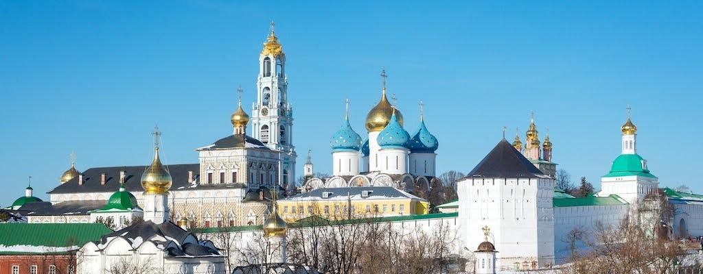 Excursión a Sergiev Posad con clase magistral de pintura Matryoshka