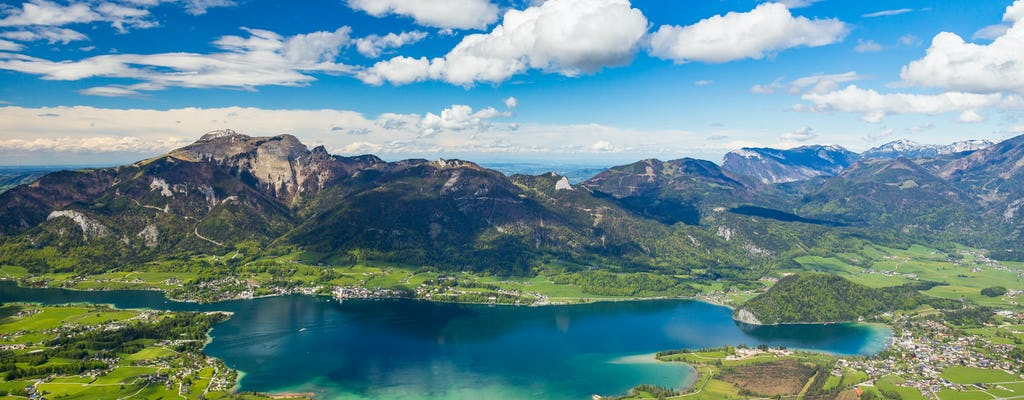 Lakes, mountains and Salt Mine combo tour from Salzburg