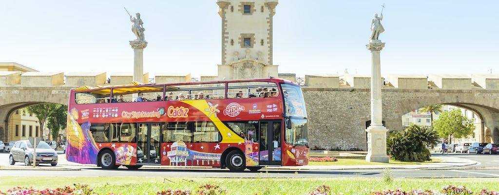 Cádiz Hop-on Hop-off de ônibus 24 horas