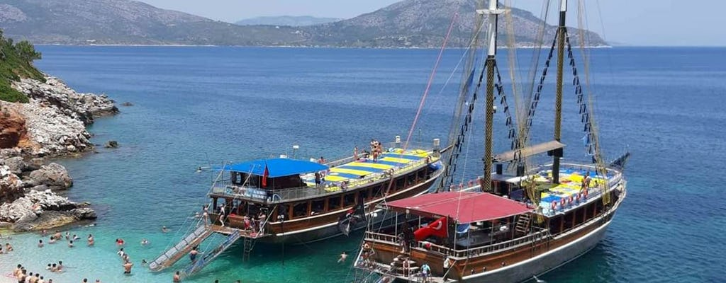 Kusadasi Northern Bays Boat Tour