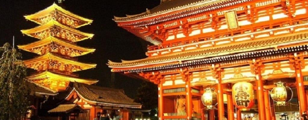Visita a la historia de Asakusa con cena en un restaurante tradicional izakaya