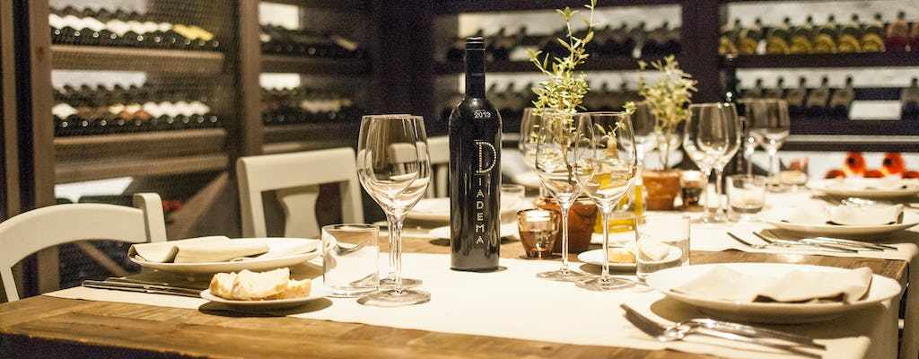 Wine-making experience and gourmet dinner at a Tuscan winery boutique