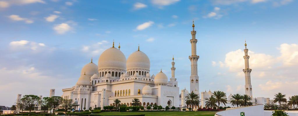 Поездка в Абу-Даби выходя из Дубая