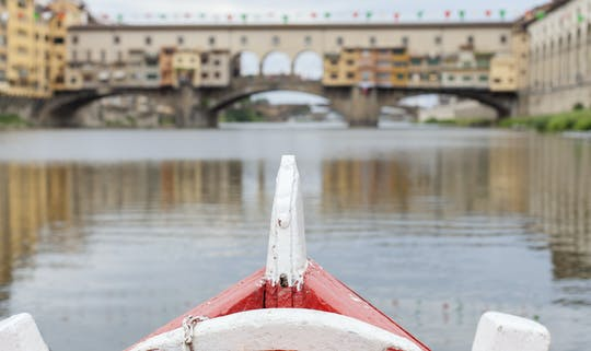 Florentine gondola boat tour