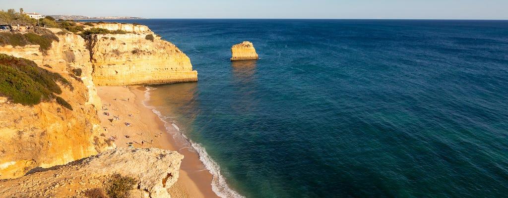 La côte de l'Algarve et la région viticole