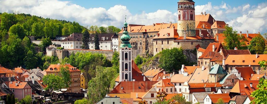 Экскурсия в Чешский Крумлов с обедом в средневековой корчме из Праги