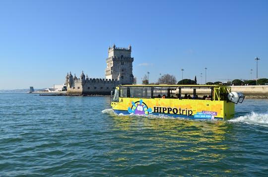 90 minutos de ônibus anfíbio em Lisboa