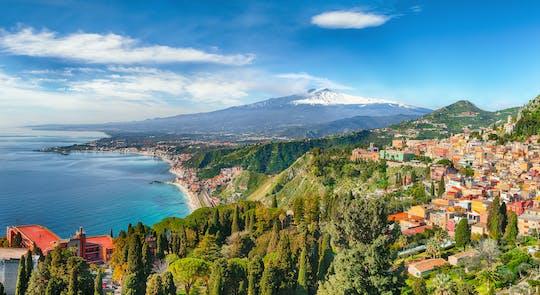 Trasa Etna Park i Taormina