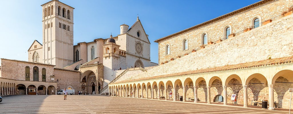 Private tour of the Basilica and other Franciscan sites