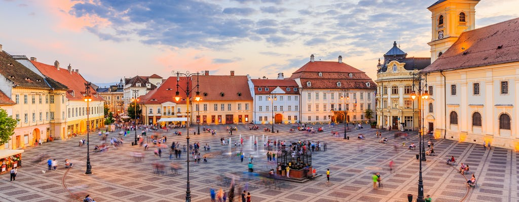 Sibiu city game – Medieval tour and hidden legends